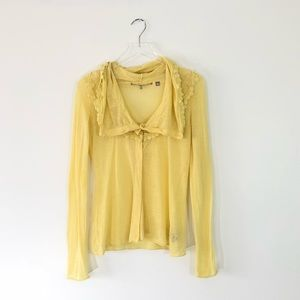 Knitted & Knotted Anthropologie Cardigan Size M